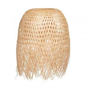 Abajur crem din bambus Ibiza Opjet Paris