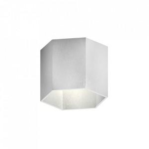 Aplica alba din aluminiu Polygon On Zuma Line