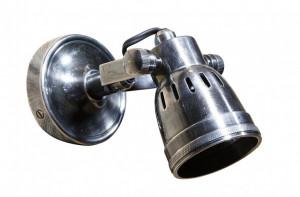 Aplica argintie din alama 7x10x10 cm Indigo Versmissen