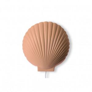 Aplica dimabila maro din ceramica Terra Shell HK Living