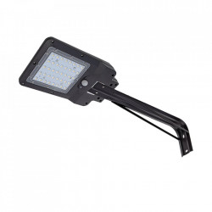 Aplica solara cu senzor pentru exterior neagra Gatves L Milagro Lighting