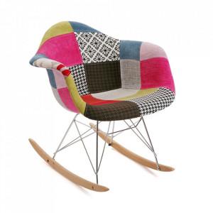 Balansoar multicolor din textil si metal Elia Embossed Versa Home