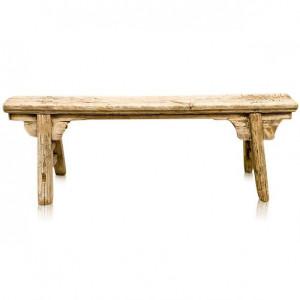 Bancheta maro din lemn 125 cm Dima Versmissen