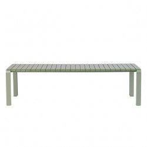 Bancheta verde din aluminiu pentru exterior 175 cm Vondel Zuiver