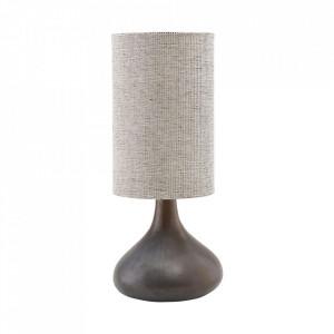 Baza pentru veioza maro din ceramica 34 cm Diya House Doctor