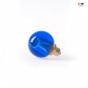 Bec cu filament LED 2W Ale Round Blue Seletti