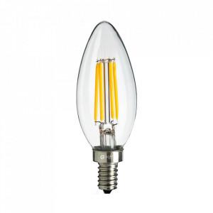 Bec cu filament LED E14 4W Lios Milagro Lighting