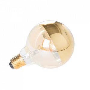 Bec dimabil LED 5W Globe Mirror White Label