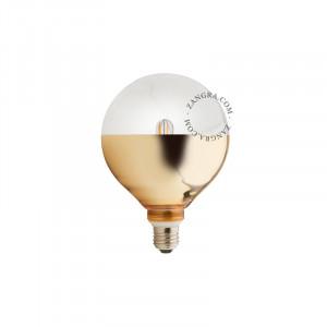 Bec dimabil LED E27 4W Fred Gold Filament Zangra