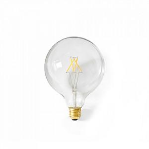 Bec dimabil transparent cu filament LED E27 8W Globe Menu