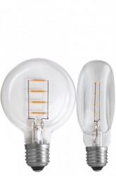 Bec filament LED transparent 1,3W Flat Line NUD Collection