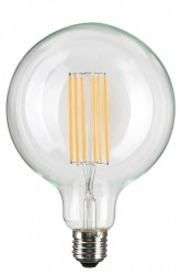 Bec filament LED transparent 2W Straight Grande NUD Collection