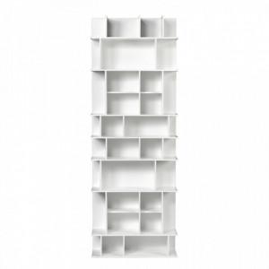 Biblioteca alba din MDF 168 cm Panorama High TemaHome