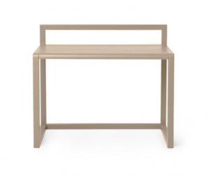 Birou crem din lemn 45x70 cm Little Architect Cashmere Ferm Living