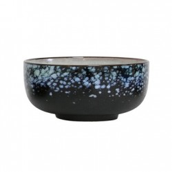 Bol din ceramica negru 70's Galaxy Medium HK Living