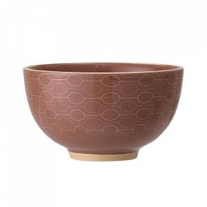 Bol portocaliu din ceramica 350 ml Myriam Bloomingville