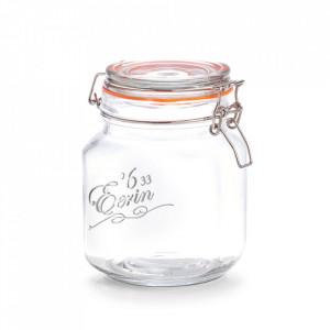 Borcan cu capac transparent din sticla 1000 ml Eerin Zeller