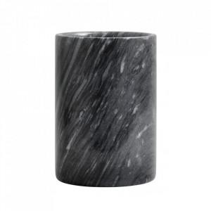Borcan negru din marmura Marbi Nordal