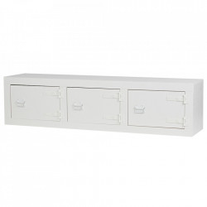 Bufet inferior alb din lemn de pin 177 cm Bunk Low Woood
