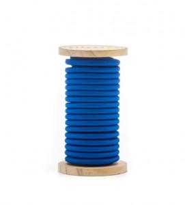 Cablu albastru din PVC si bumbac 5 m Philo Blue Seletti