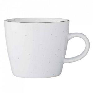 Cana alba din ceramica 300 ml Emily Bloomingville