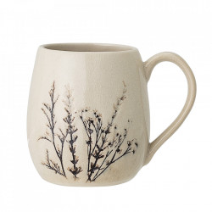 Cana crem din ceramica 400 ml Bea Bloomingville