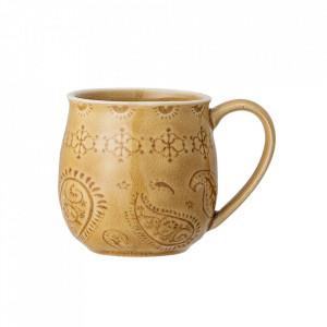 Cana galbena din ceramica 400 ml Rani Bloomingville