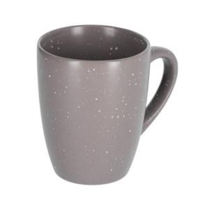 Cana gri inchisa din ceramica 370 ml Aratani Kave Home
