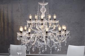 Candelabru cu 15 becuri Diamonds Invicta Interior