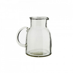 Carafa transparenta din sticla 16x18 cm Clear Jug Madam Stoltz