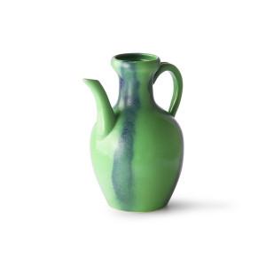 Carafa verde/albastra din ceramica Green Jug HK Living