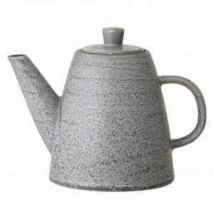 Ceainic gri din ceramica 1000 ml Bloomingville