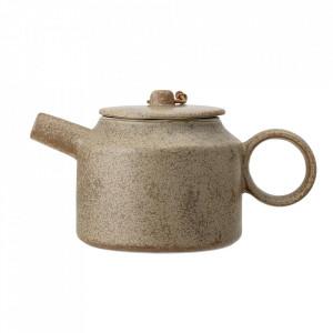 Ceainic maro din ceramica 550 ml Thea Bloomingville
