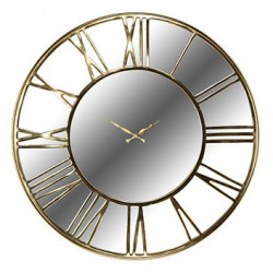 Ceas rotund auriu din inox si sticla pentru perete 76 cm Greyson Richmond Interiors