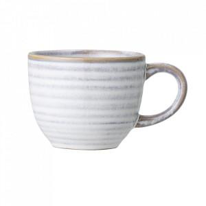 Ceasca alba din ceramica 160 ml Camellia Bloomingville