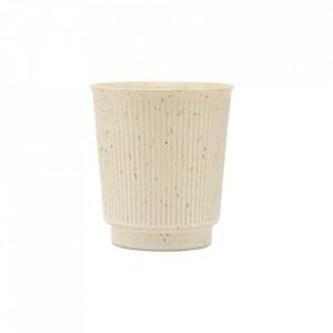 Ceasca bej din ceramica 8,7x9,7 cm Berica House Doctor