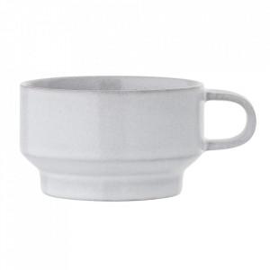 Ceasca gri din ceramica 200 ml Pearl Bloomingville