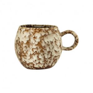 Ceasca maro/crem din ceramica 275 ml Paula Bloomingville