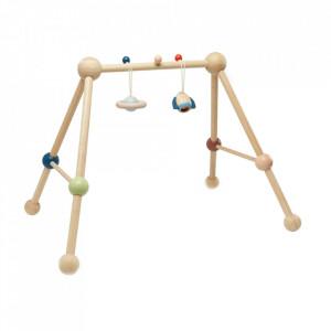 Centru activitati multicolor din lemn Orchard Play Gym Plan Toys