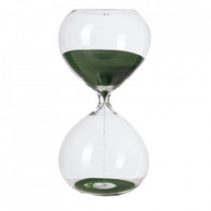 Clepsidra din sticla cu nisip verde Ball S Pols Potten