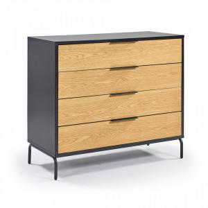Comoda din MDF si lemn 100 cm Savoi La Forma
