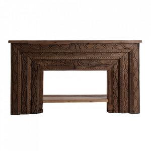 Consola maro din lemn 167 cm Changde Vical Home