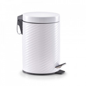 Cos de gunoi alb din metal 3 L Minimoon Zeller