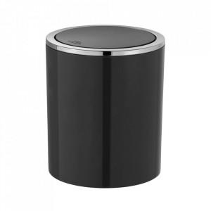 Cos de gunoi gunoi negru din PVC 2 L Bruno Wenko