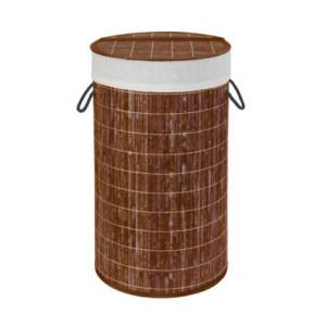 Cos de rufe maro din bambus si in 55 L Lona Wenko