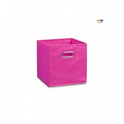 Cos roz din fleece Storage Box Pink Small Zeller