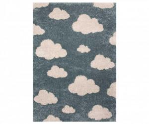 Covor albastru pentru copii 170x120 cm Clouds Louis Zala Living