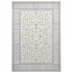 Covor crem/albastru din bumbac si viscoza 160x230 cm Oriental Antique The Home