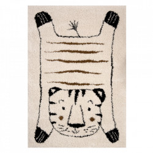 Covor crem/negru din polipropilena 120x170 cm Vini Tiger Baxley Zala Living