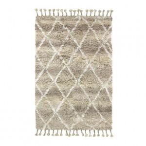 Covor din lana crem 180x120 cm Natural Shades Berber HK Living